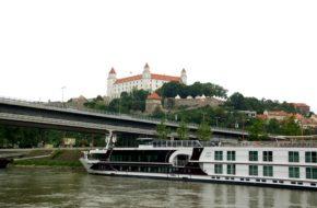 Bratysława Stateczkiem w rejs po Dunaju