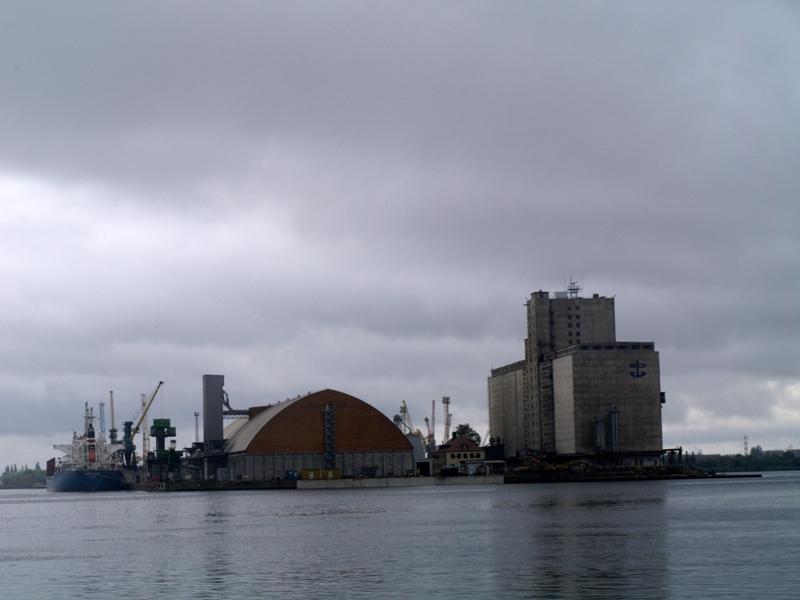 Szczecin. Stocznia na wyspie Gryfia
