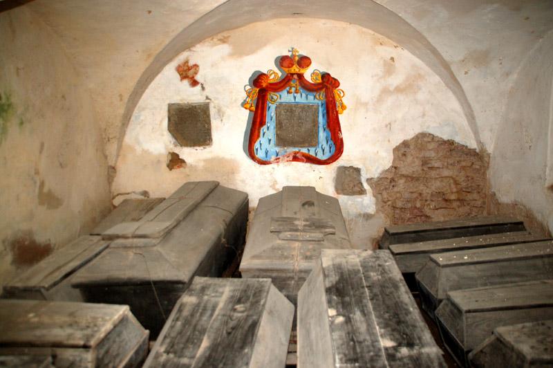 Nieśwież Rodowa nekropolia Radziwiłłów