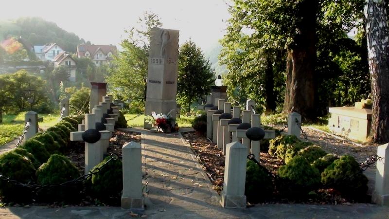 Piwniczna Zdrój. Stare cmentarze dwu religii