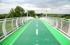 Devínska Nová Ves Most Wolności zamiast Żelaznej Kurtyny