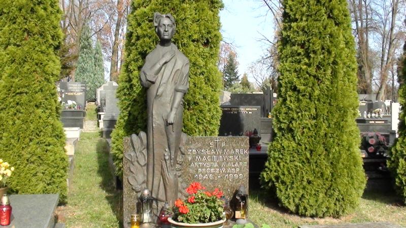 Kraków. Cmentarz na Salwatorze