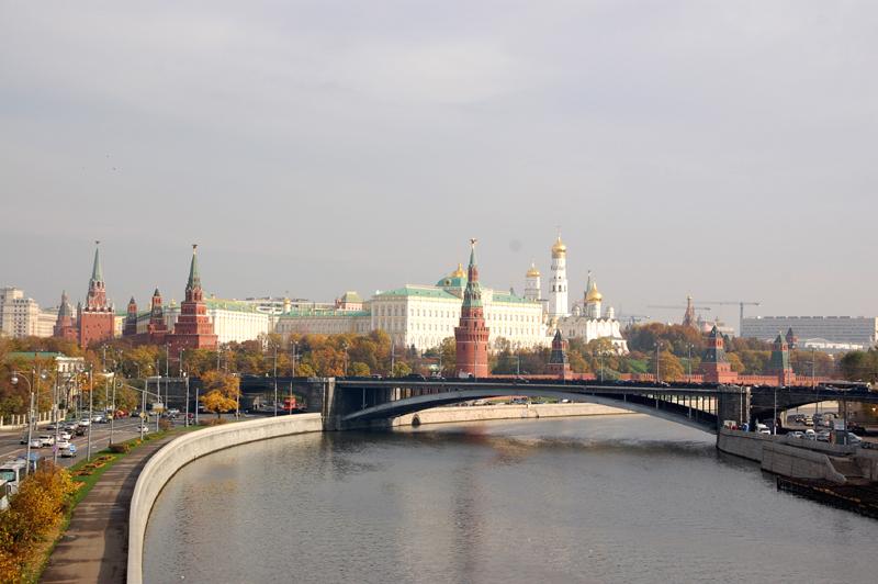 Moskwa Co widać zza murów Kremla