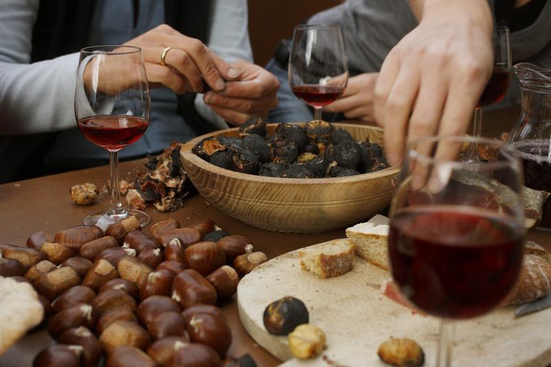 Południowy Tyrol Törggelen: święto wina i kasztanów