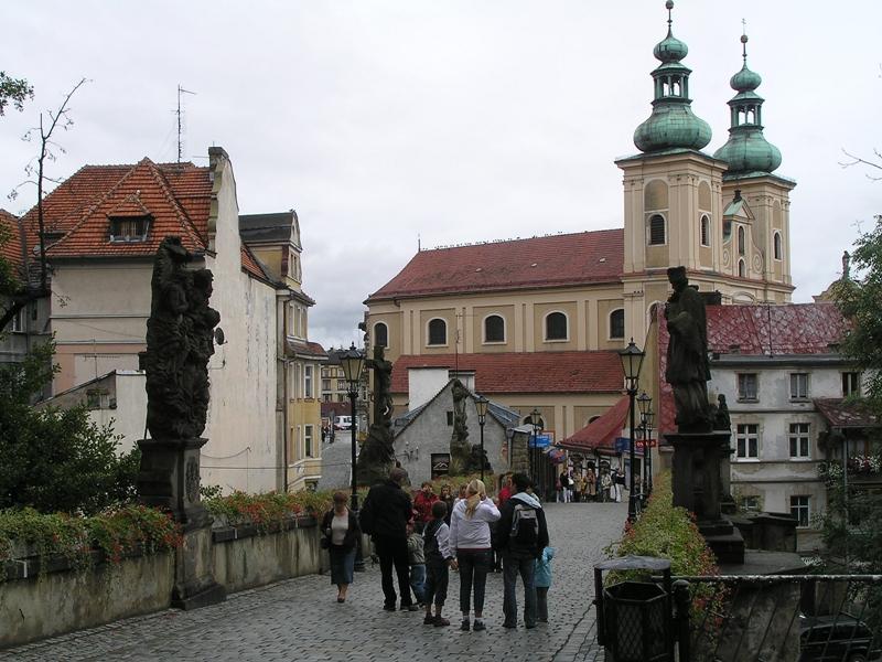 Kłodzko Gotycki most nad Młynówką