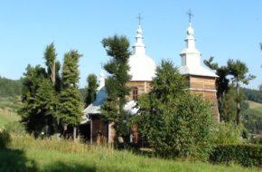 Muszyna Drewniana cerkiew w Złockiem
