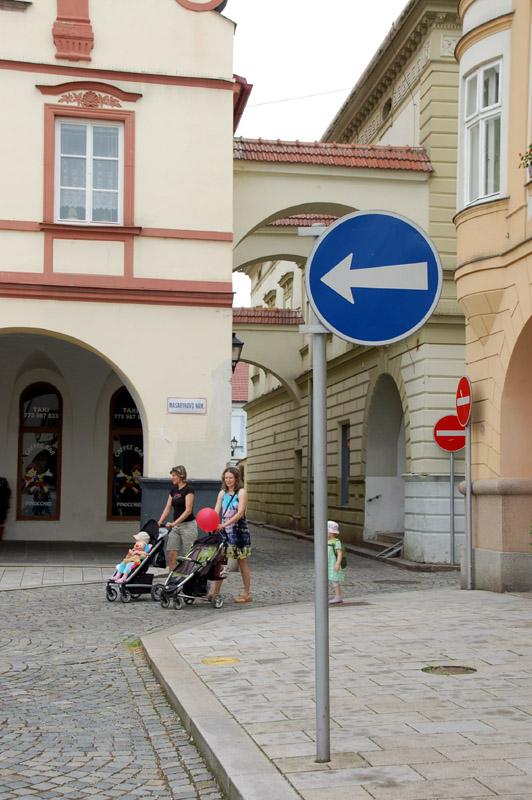 Nový Jičin. Spacer po rynku w 700-lecie miasta