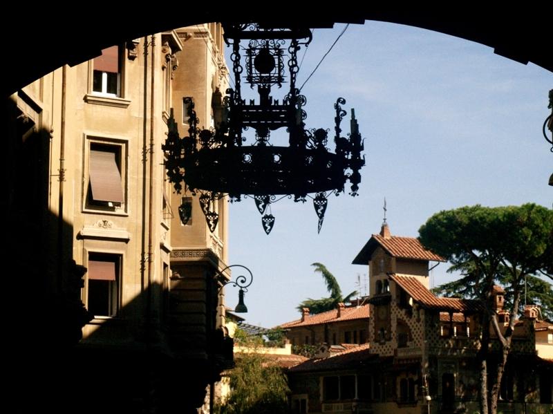 Rzym Bajkowa dzielnica Coppedé