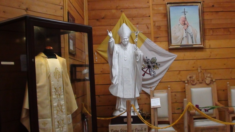 Stary Sącz. Ołtarz Papieski i Muzeum Jana Pawła II