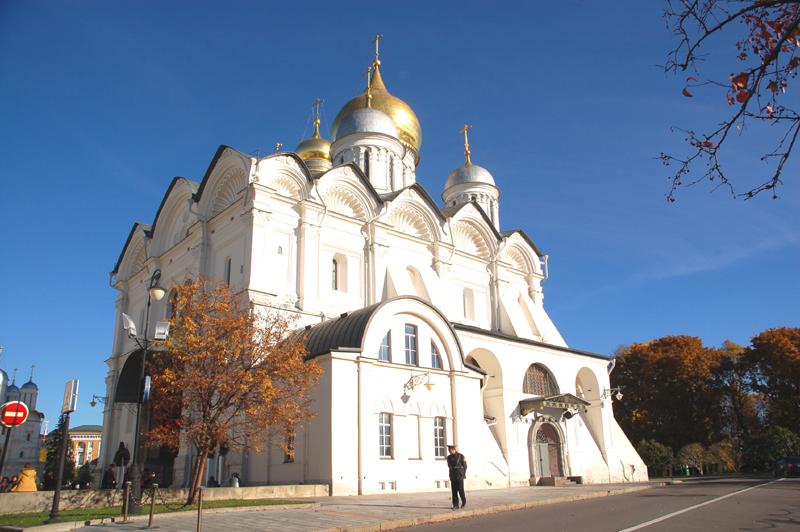 Moskwa Carska nekropolia na Kremlu