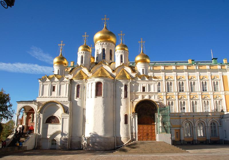 Moskwa Kolekcje ikon w kremlowskim soborze