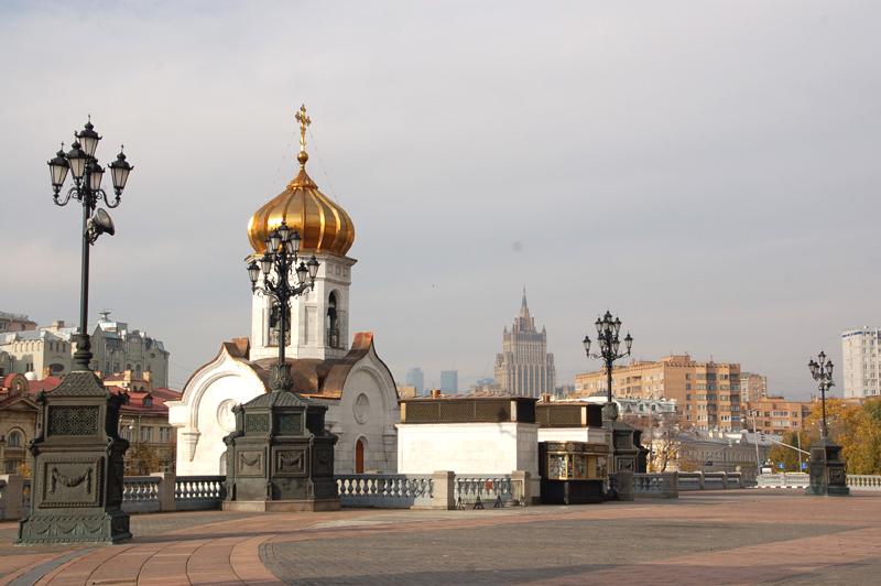 Moskwa. Chram Zbawiciela – pierwszy w Rosji