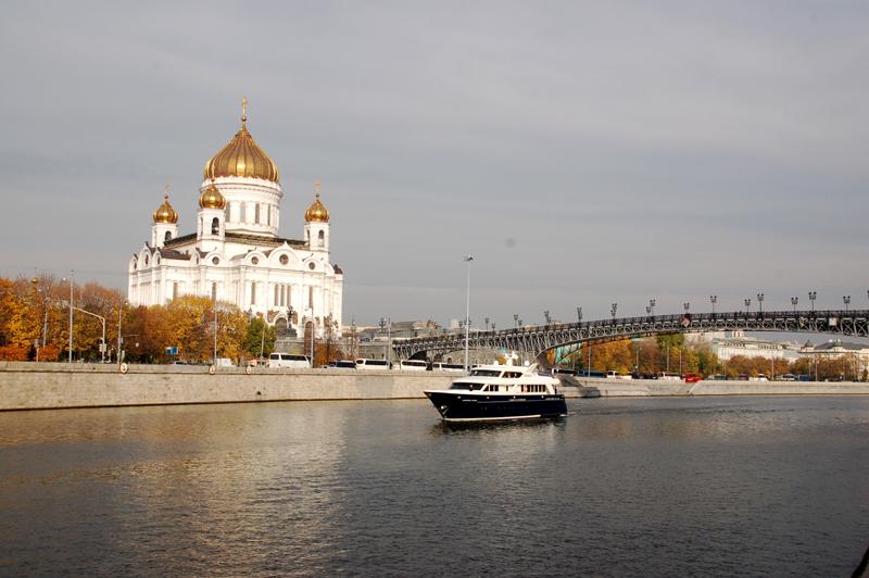Moskwa Chram Zbawiciela – pierwszy w Rosji
