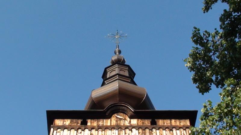 Szczawnik. Stare ikony w cerkiewnym wnętrzu