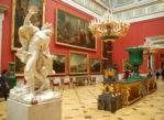 Sankt Petersburg. Muzeum Ermitażu w Pałacu Zimowym