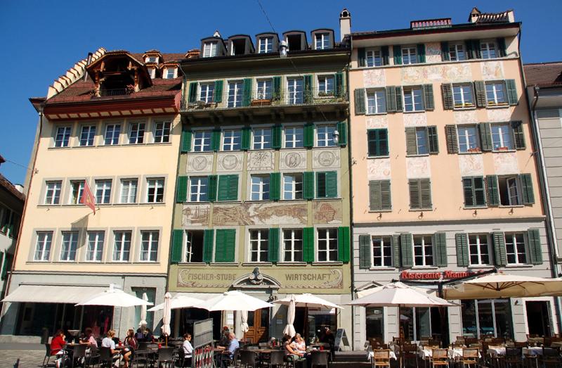 Lucerna. Krótki kurs dziejów miasta