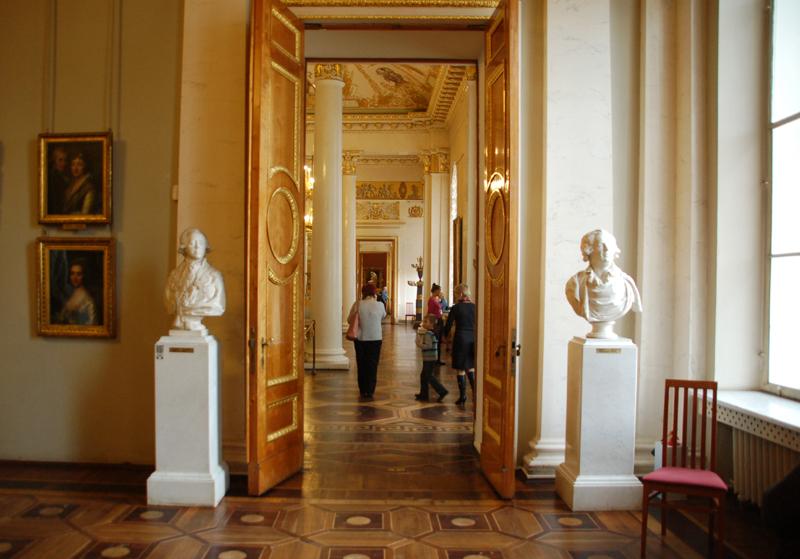 Sankt Petersburg. Rosyjskie Muzeum przy Placu Sztuk