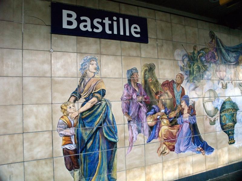 Paryż. Metro, symbol w stylu Art Nouveau