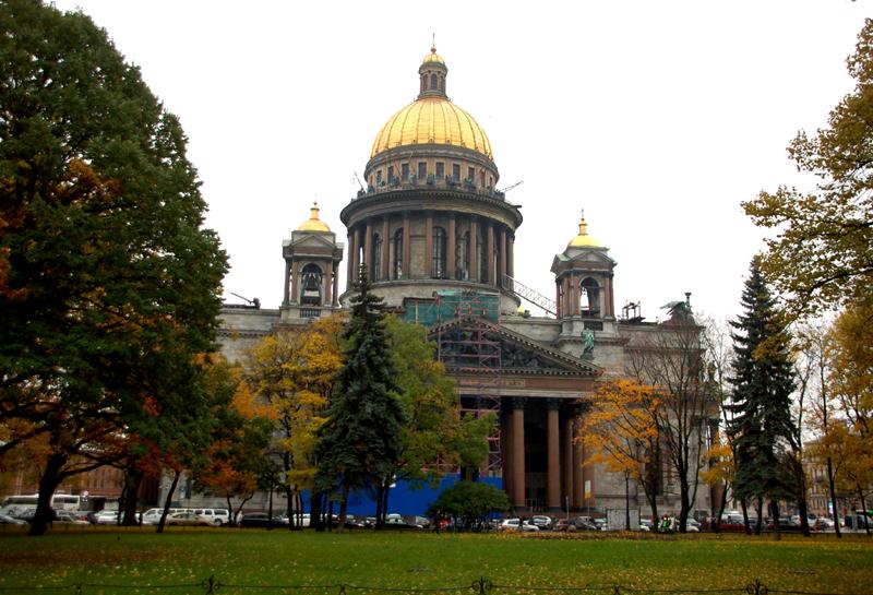 Sankt Petersburg Niezwykłe dzieje Soboru Isakijewskiego