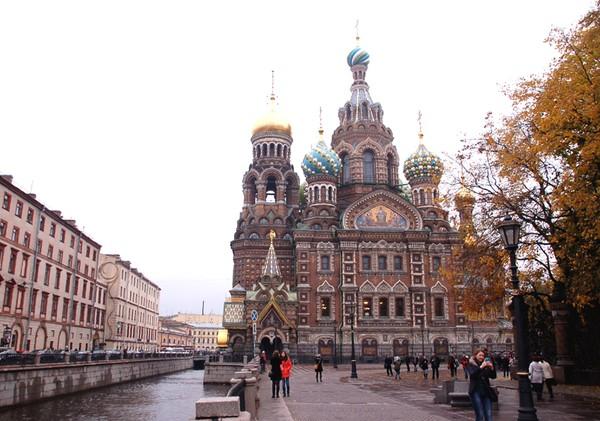 Sankt Petersburg Cerkiew Zbawiciela na Krwi (carskiej)