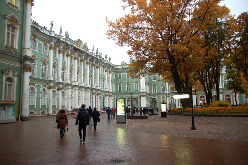 Sankt Petersburg. Zimowa rezydencja carów