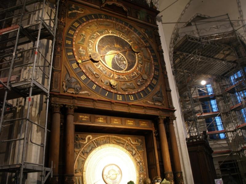 Rostock. Hanzeatycki zegar astronomiczny