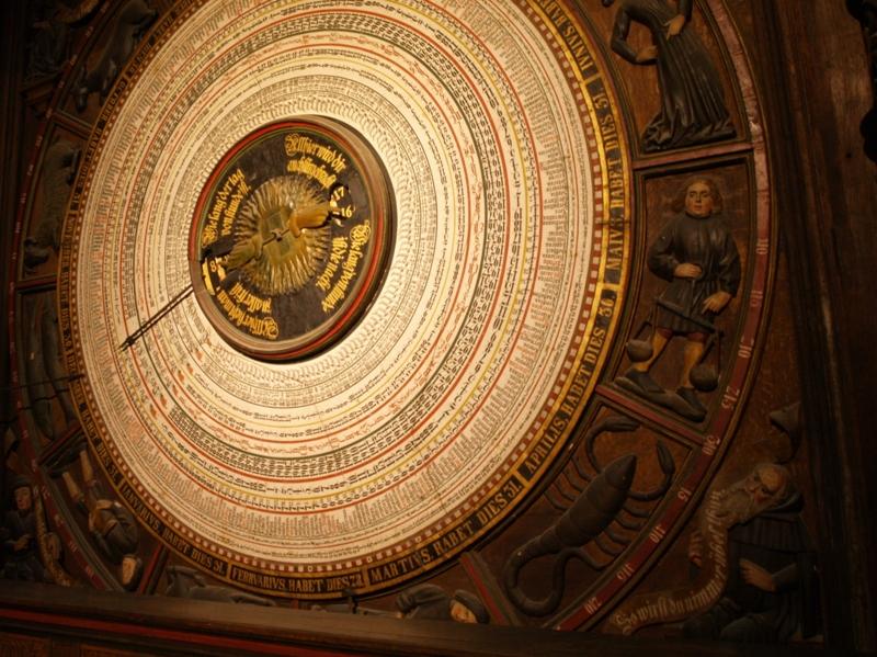 Rostock Hanzeatycki zegar astronomiczny