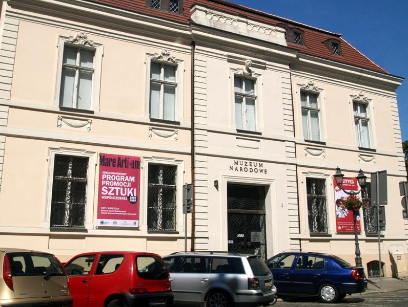 Szczecin. Pałac Pod Głowami