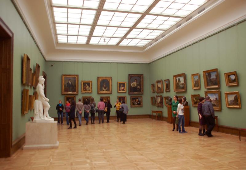 Moskwa. Bogate zbiory Galerii Tretiakowskiej