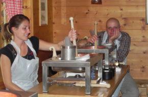 Parpan Każdy umie zrobić ser szwajcarski