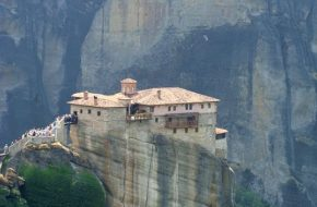 Meteory Monaster Roussanou, czyli św.Barbary