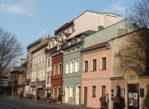 Kraków. Ulica Szeroka, centrum Kazimierza