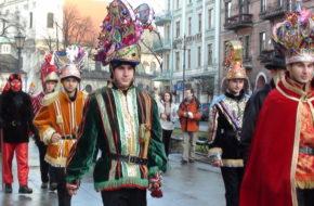 Kraków Orszak Trzech Króli 2014