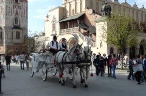 Kraków Rynek Główny, najpiękniejszy w Europie