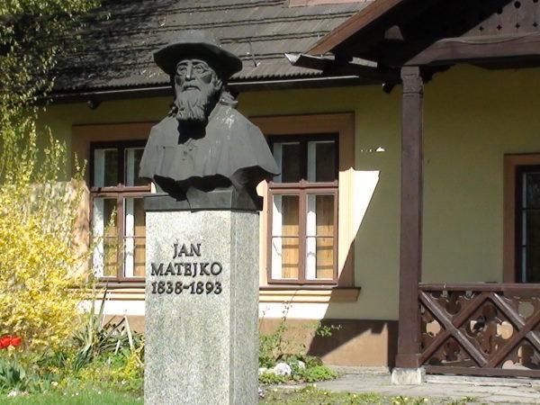 Kraków. Dworek Jana Matejki w Krzesławicach