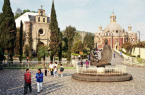 Meksyk Sanktuarium Santa Maria De Guadalupe