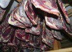 Parpan. Mięso suszone alpejskim wiatrem