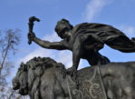 Paryż. Triumf Republiki na Placu Narodu