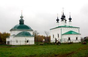 Suzdal Cerkwie, klasztory i podcienia na rynku