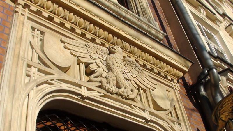 Kraków. Stare kamienice wokół rynku i w mieście