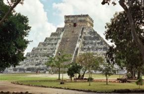Chichén Itzá Co widać z największej piramidy