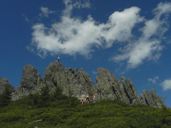 Góry Gutâi. Creasta Cocoşului to Koguci Grzebień