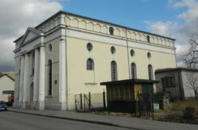 Praszka Synagoga, obecnie dom kultury