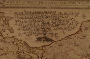 Szczecin Wielka Mapa Lubinusa