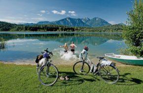 Karyntia Trasy rowerowe po słonecznej stronie Alp