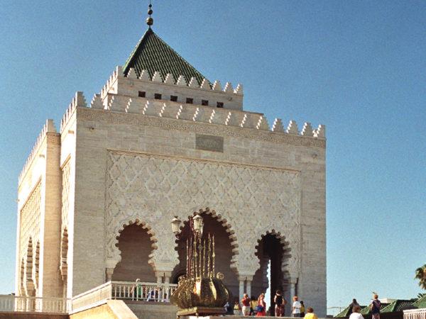 Rabat. Mauzoleum króla Muhammada V