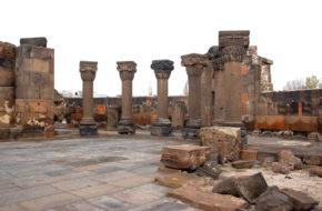 Erywań Zwartnoc, czyli ruiny Katedry Aniołów