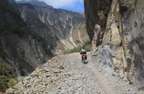 Thorong La Rowerem wokół Annapurny