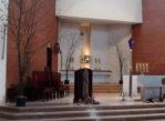 Sopot. Nowy kościół i krzyż na Giewoncie