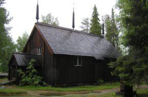 Sodankylä Najstarszy kościół w Laponii